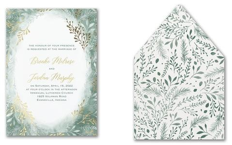 """Does paper stock really matter? It is difficult to experience the """"weight"""" and texture of an invitation just by looking at a picture."""